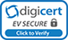 DigiCert EV Multi-Domain SSL - 3 SAN included Site Seal
